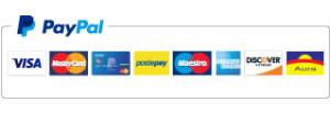 Paga in sicurezza con Paypal